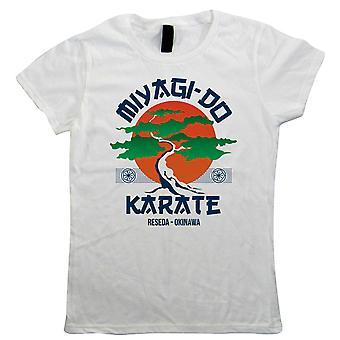 Miyagi Do Karate Movie Inspired Womens T-Shirt | Retro Gift Her Mum