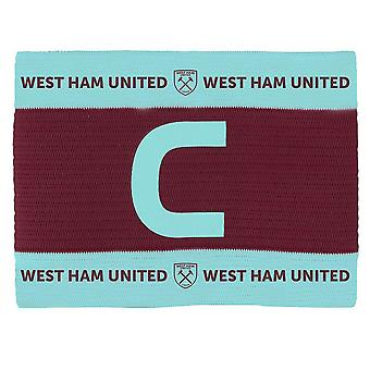 West Ham United FC Unisex Captains Arm Band