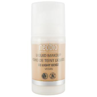Neobio Maquillaje Fluido 01 Light Beige (Beauty , Make-Up , Facial)