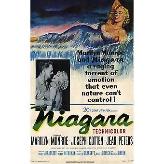 Poster do filme Niagara (11 x 17)