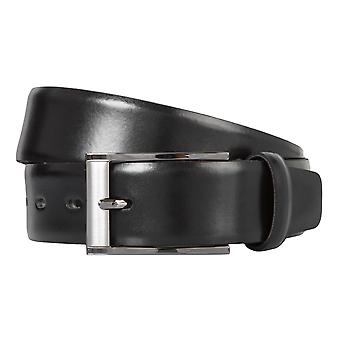 BERND GÖTZ belts men's belts leather belt can be shortened black 407