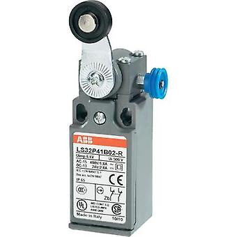 Limit switch 400 Vac 1.8 A Lever momentary ABB LS32P41B02-R IP65 1 pc(s)