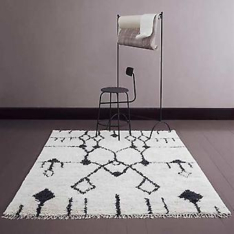 Rugs -Aragon - Off White & Black