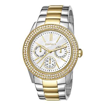 ESPRIT ladies watch wristwatch Peony stainless steel bicolor ES103822015