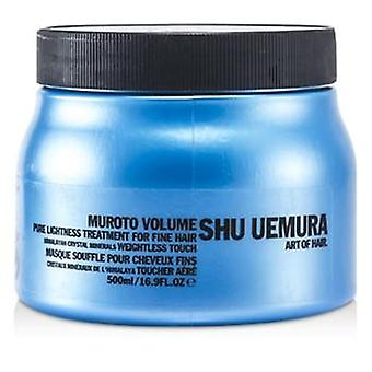 Shu Uemura Muroto volumen Pure Lightness tratamiento (cabellos finos) - 500ml / 16.9oz