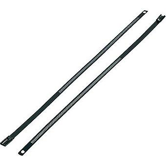Cable tie 150 mm Black Coated KSS ASTN-150 1 pc(s)