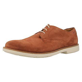 Herren Clarks Smart-Casual Schuhe Raspin Plan