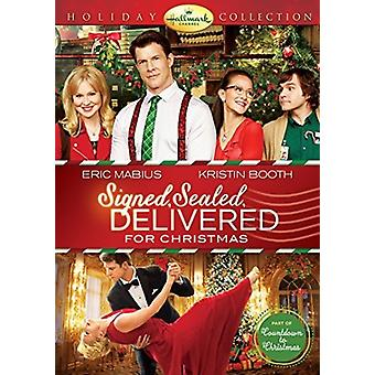 Signed Sealed Delivered Christmas [DVD] USA import