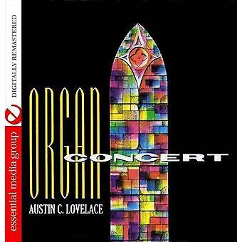 Austin Lovelace - orgelkonsert [DVD] USA import