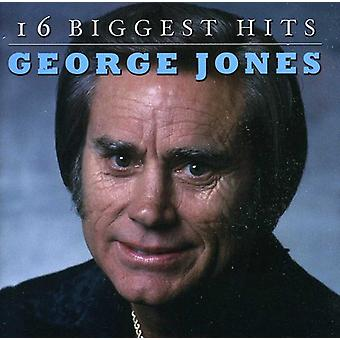 George Jones - 16 största Hits [CD] USA import