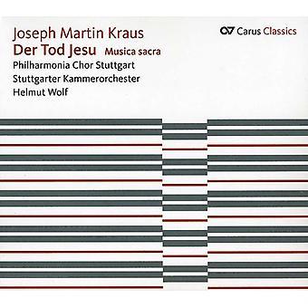 J.M. Kraus - Joseph Martin Kraus: Importación de USA de Der Tod Jesu [CD]