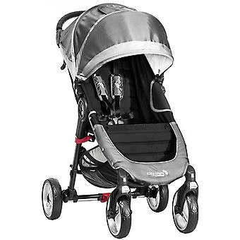 Baby Jogger City Mini 4 Wheel Single Stroller - Steel Grey