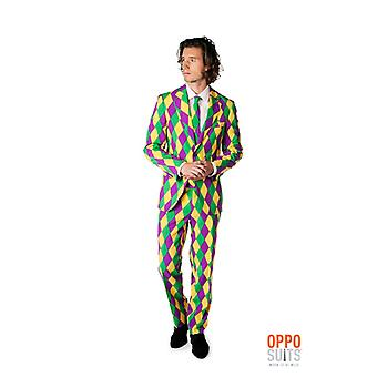 Harleking Harlequin suit stained Opposuit slimline Premium 3-piece set