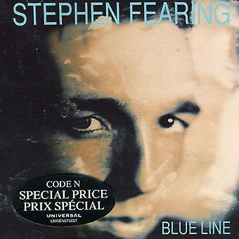 Stephen Fearing - blå linje [CD] USA import