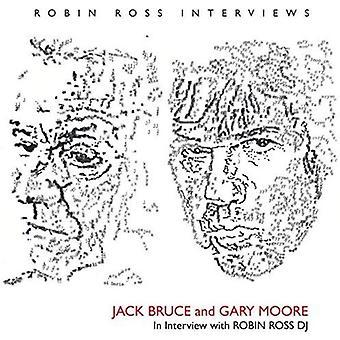 Jack Bruce & Gary Moore - Bruce Jensen & Gary Moore-Interview 199 [CD] USA importerer