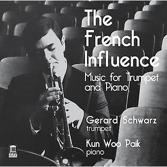 Bozza / Schwarz / Paik - francese influenza [CD] USA import