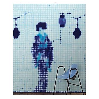 Addiction Wallpaper Geisha Standing by Paola Navone