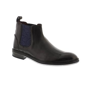 Ted Baker Zilpha - Black Leather Mens Boots