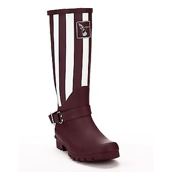 Evercreatures Ladies Evergreen Knee Wellies New York in Brown - Various Sizes