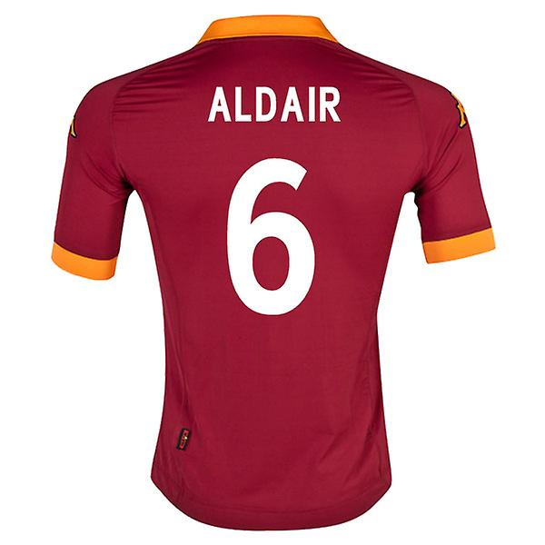 2012-13 Roma Home Shirt (Aldair 6)