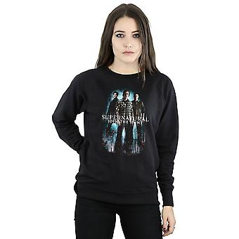 Supernatural Women's Group Castiel Sweatshirt