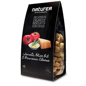Naturea Biscuits Tomato, Olive Oil & Cheese (Dogs , Treats , Biscuits , Hypoallergenic)