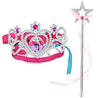 Children's My Little Pony Twilight Sparkle Tiara and Wand Set