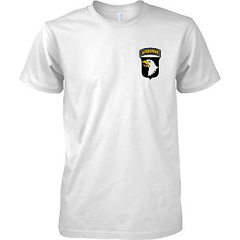 US Army 101st Airborne Division - Screaming Eagles - Kids Chest Design T-Shirt