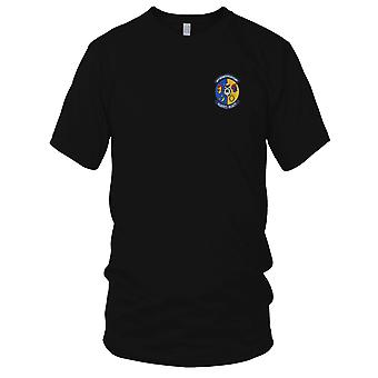 USAF Airforce - 40th Security Police Flight Embroidered Patch - Ladies T Shirt