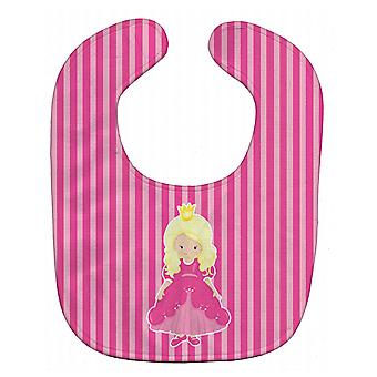 Carolines Treasures  BB8753BIB Blonde Girl Princess Baby Bib