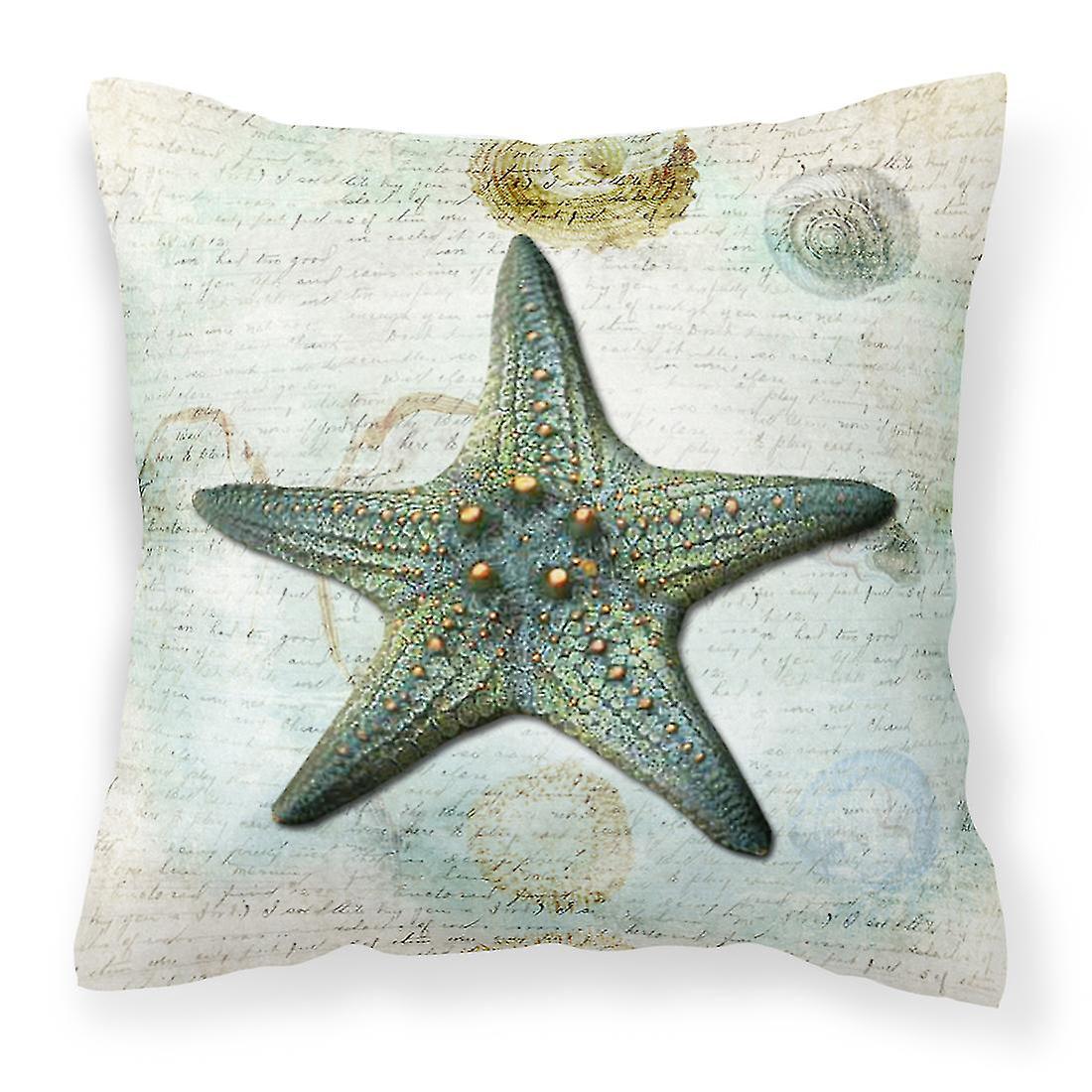 Sb3034pw1414 Décoratif Toile Trésors Tissu Carolines Oreiller Starfish rCtsQdh