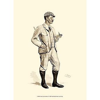 Vanity Fair Golfers I Poster Print by Spy (10 x 13)