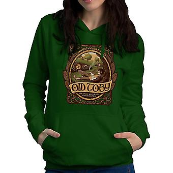 Lord Of The Rings Old Toby Pipe Weed Women's Hooded Sweatshirt