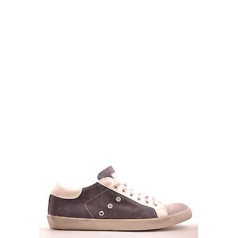 Leather Crown mens MCBI185002O grey leather of sneakers