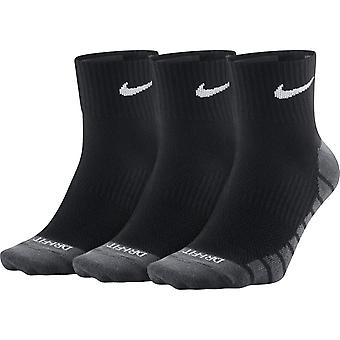 Nike ligero Max diaria QTR Pack 3 calcetines