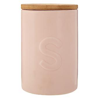 Premier Housewares Fenwick Zucker Kanister, rosa