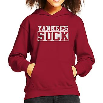 New York Yankees Suck Kid's Hooded Sweatshirt