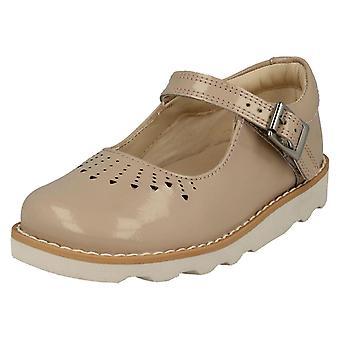 Ragazze Clarks scarpe Casual corona salta