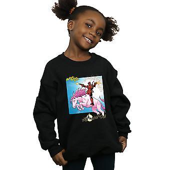 Marvel Girls Deadpool Hey You Sweatshirt