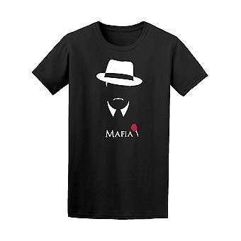 Italian Mafia Gangster Vintage Tee Men's -Image by Shutterstock