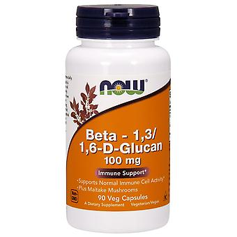 Now Foods Beta 13/16DGlucan 100 mg 90 vcaps (Vitamins & supplements , Multinutrients)