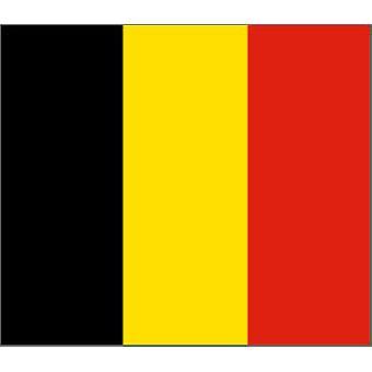 Belgia flagg 5 ft x 3 ft med hull For hengende