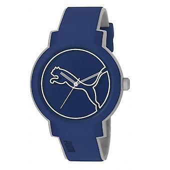PUMA assistir unisex relógio de pulso do balanço PU911181004 azul