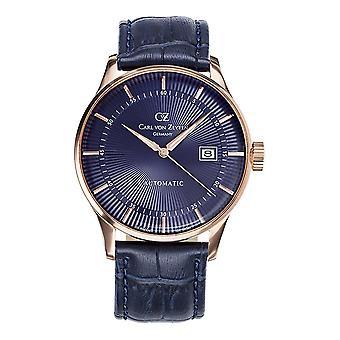 Carl of Zeyten men's watch wristwatch automatic Russ CVZ0004RBL