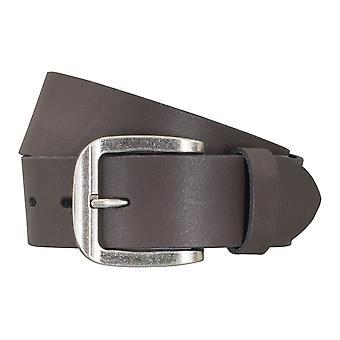 Correa de cuero cinturones de correa correas de hombres LLOYD Brown 5046