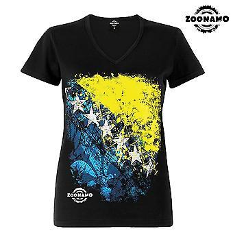 Zoonamo T-Shirt ladies Bosnia of classic