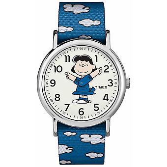 Timex Blue Strap Lucy TW2R413006B Watch