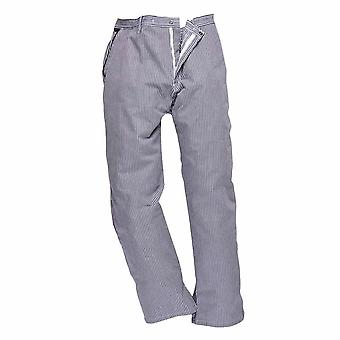 Portwest Mens Barnet High Temperature Cotton Chefs Trousers