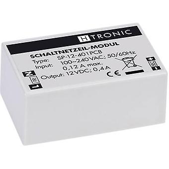 AC/DC PSU (print) H-Tronic SP-12-401PCB 12 Vdc 0.4 A 4.8 W