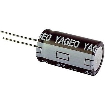 Yageo SE035M0330B5S-1012 Electrolytic capacitor Radial lead 5 mm 330 µF 35 V 20 % (Ø x H) 10 mm x 12 mm 1 pc(s)
